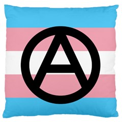 Anarchist Pride Large Flano Cushion Case (Two Sides)