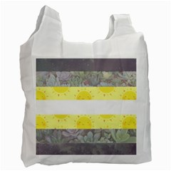 Nonbinary Flag Recycle Bag (one Side)