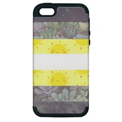 Nonbinary flag Apple iPhone 5 Hardshell Case (PC+Silicone)