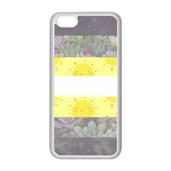 Nonbinary flag Apple iPhone 5C Seamless Case (White)