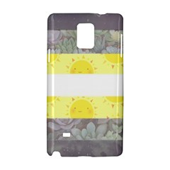 Nonbinary flag Samsung Galaxy Note 4 Hardshell Case