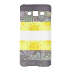 Nonbinary flag Samsung Galaxy A5 Hardshell Case