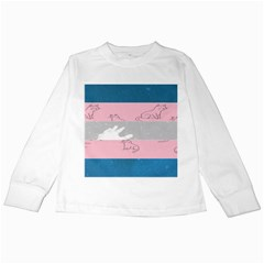Pride Flag Kids Long Sleeve T-Shirts