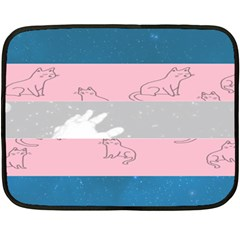 Pride Flag Double Sided Fleece Blanket (mini)