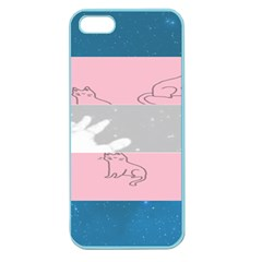 Pride Flag Apple Seamless iPhone 5 Case (Color)