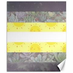 Cute Flag Canvas 8  x 10