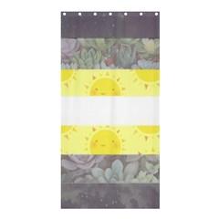 Cute Flag Shower Curtain 36  x 72  (Stall)