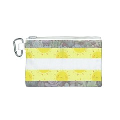Cute Flag Canvas Cosmetic Bag (S)