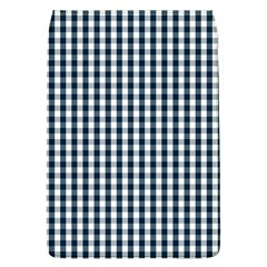 Silent Night Blue Large Gingham Check Flap Covers (L)