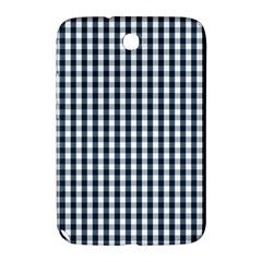 Silent Night Blue Large Gingham Check Samsung Galaxy Note 8.0 N5100 Hardshell Case