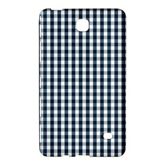 Silent Night Blue Large Gingham Check Samsung Galaxy Tab 4 (7 ) Hardshell Case