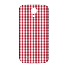 Usa Flag Red Blood Large Gingham Check Samsung Galaxy S4 I9500/I9505  Hardshell Back Case