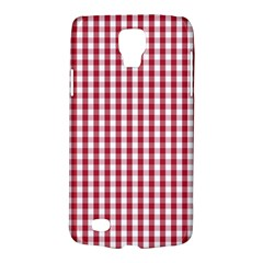 Usa Flag Red Blood Large Gingham Check Galaxy S4 Active