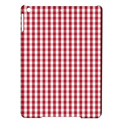 Usa Flag Red Blood Large Gingham Check Ipad Air Hardshell Cases