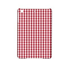 Usa Flag Red Blood Large Gingham Check iPad Mini 2 Hardshell Cases