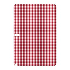 Usa Flag Red Blood Large Gingham Check Samsung Galaxy Tab Pro 10.1 Hardshell Case