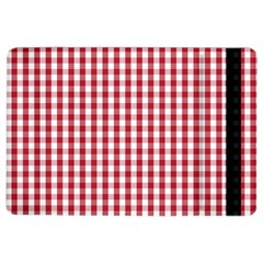 Usa Flag Red Blood Large Gingham Check iPad Air 2 Flip