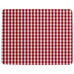 Usa Flag Red Blood Large Gingham Check Jigsaw Puzzle Photo Stand (Rectangular)
