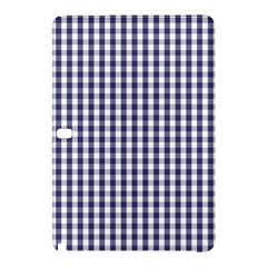 USA Flag Blue Large Gingham Check Plaid  Samsung Galaxy Tab Pro 12.2 Hardshell Case