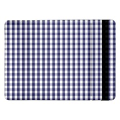 USA Flag Blue Large Gingham Check Plaid  Samsung Galaxy Tab Pro 12.2  Flip Case