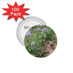 Purple Wildflowers 1.75  Buttons (100 pack)
