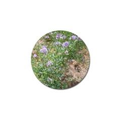 Purple Wildflowers Golf Ball Marker (4 pack)