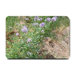 Purple Wildflowers Small Doormat