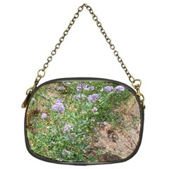 Purple Wildflowers Chain Purses (Two Sides)