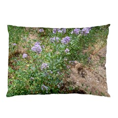 Purple Wildflowers Pillow Case (Two Sides)