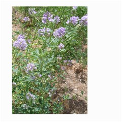 Purple Wildflowers Large Garden Flag (two Sides)