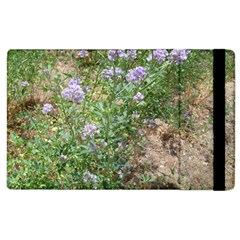 Purple Wildflowers Apple iPad 3/4 Flip Case