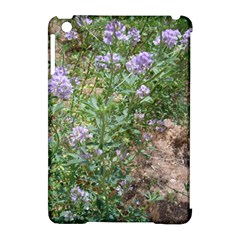 Purple Wildflowers Apple iPad Mini Hardshell Case (Compatible with Smart Cover)