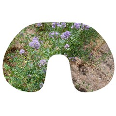 Purple Wildflowers Travel Neck Pillows