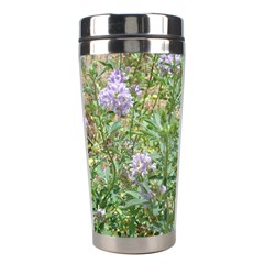 Purple Wildflowers Stainless Steel Travel Tumblers