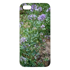 Purple Wildflowers iPhone 5S/ SE Premium Hardshell Case