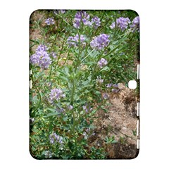 Purple Wildflowers Samsung Galaxy Tab 4 (10.1 ) Hardshell Case