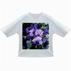 Purple Pansies Infant/Toddler T-Shirts