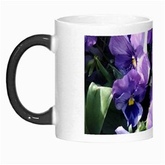 Purple Pansies Morph Mugs