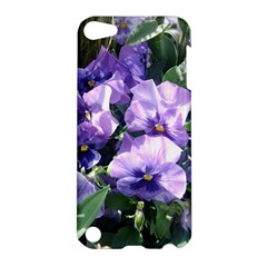 Purple Pansies Apple iPod Touch 5 Hardshell Case