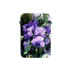 Purple Pansies Apple iPad Mini Protective Soft Cases