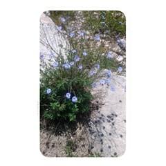 Purple Flowers On Boise River Memory Card Reader