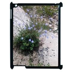 Purple Flowers On Boise River Apple iPad 2 Case (Black)