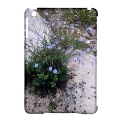 Purple Flowers On Boise River Apple iPad Mini Hardshell Case (Compatible with Smart Cover)