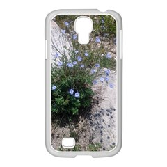 Purple Flowers On Boise River Samsung GALAXY S4 I9500/ I9505 Case (White)