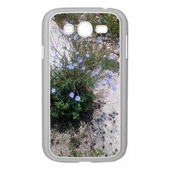 Purple Flowers On Boise River Samsung Galaxy Grand DUOS I9082 Case (White)