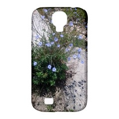 Purple Flowers On Boise River Samsung Galaxy S4 Classic Hardshell Case (pc+silicone)