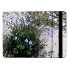 Purple Flowers On Boise River Samsung Galaxy Tab Pro 12.2  Flip Case
