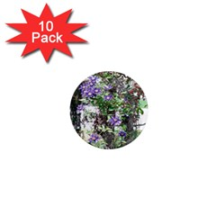 Purple Clematis 1  Mini Magnet (10 pack)