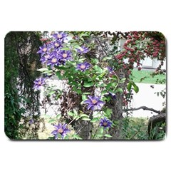 Purple Clematis Large Doormat