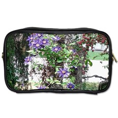 Purple Clematis Toiletries Bags 2-Side